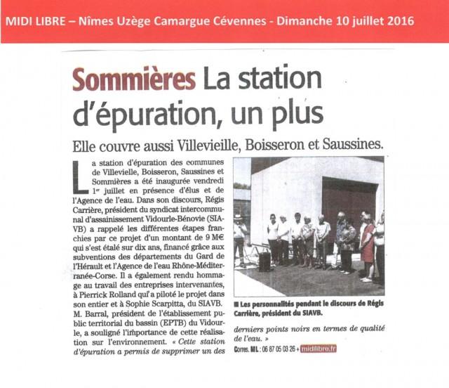 28 - Midi Libre - 10 juillet 2016