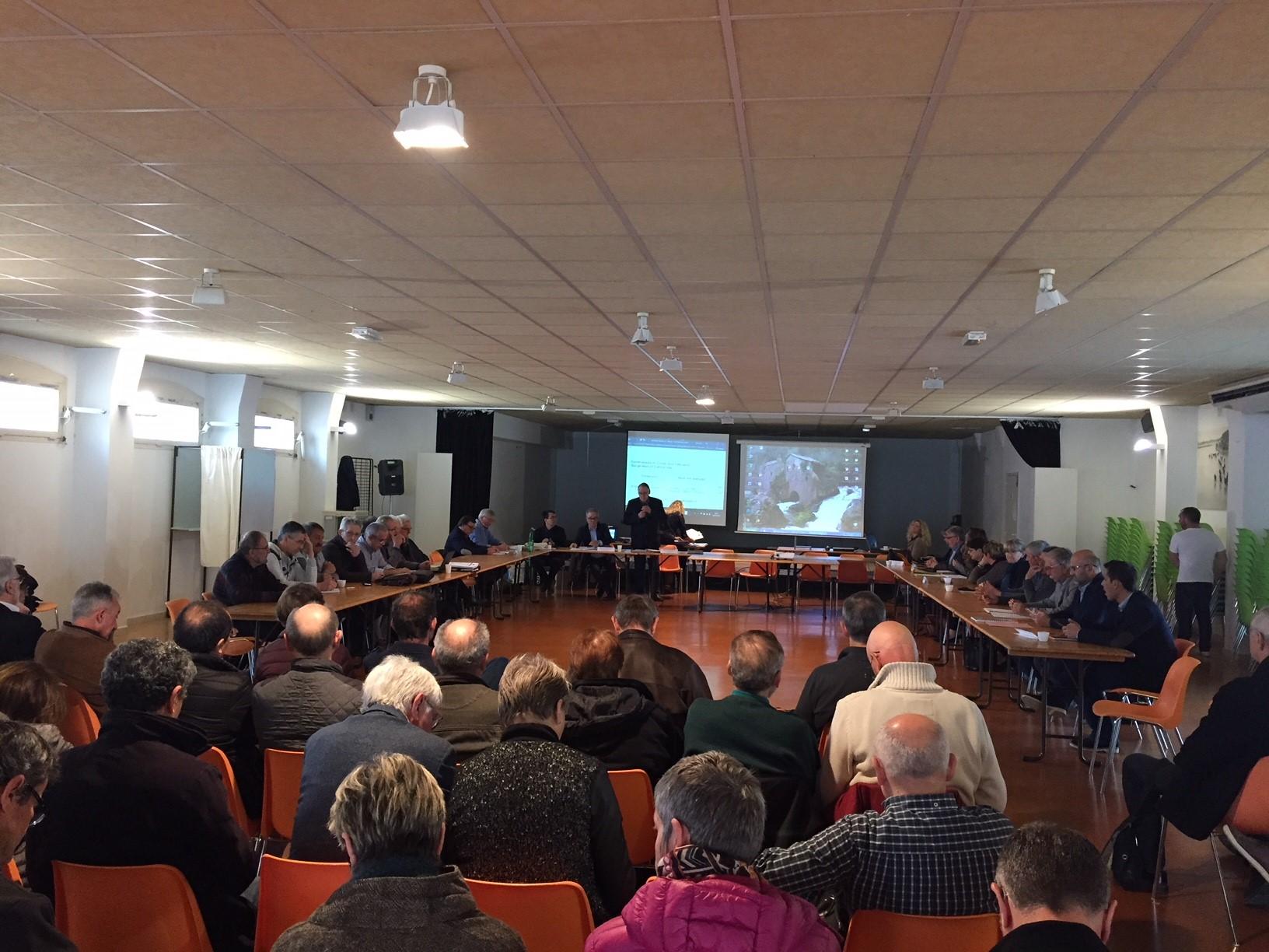 A voté ! Élection du nouveau comité syndical, préparation de la compétence Gemapi