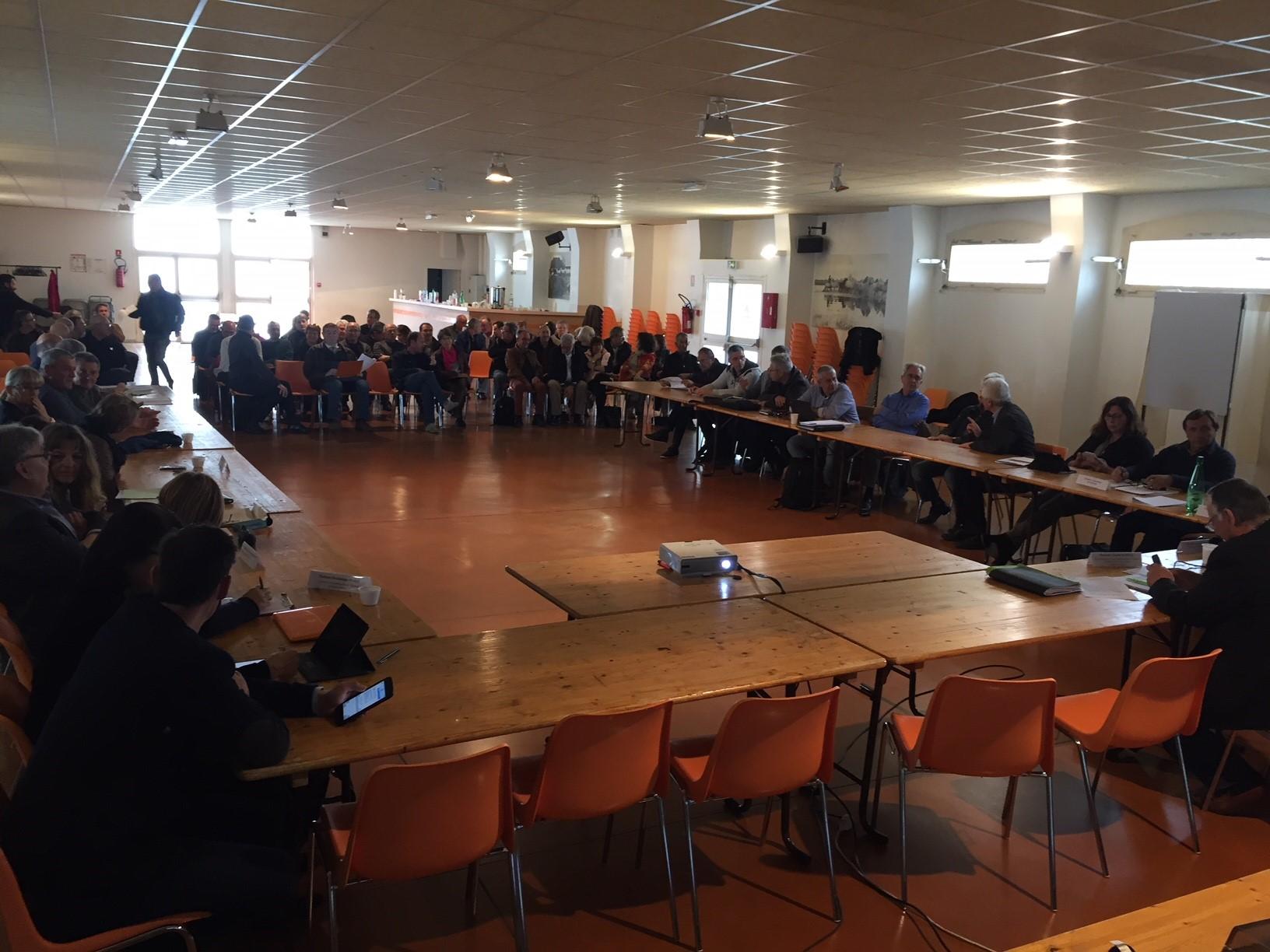 Condensé des délibérations prises lors de l'Assemblée Générale et du Comité Syndical du 6 avril 2018 à Aimargues.
