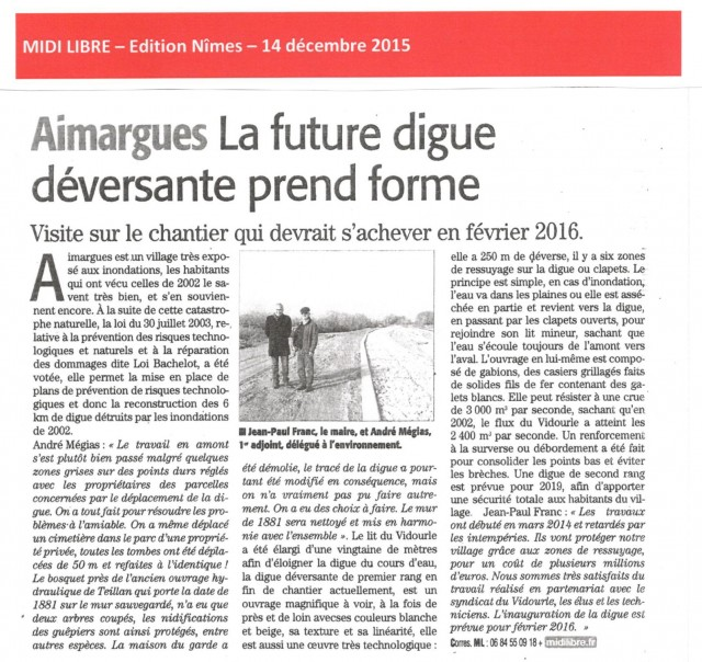 Article Midi libre Digue Aimargues0002