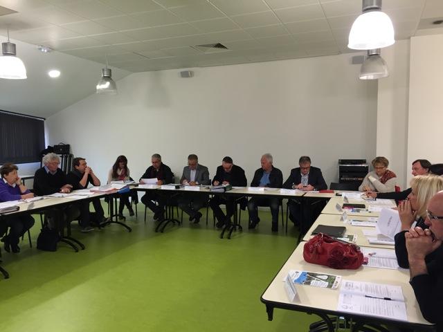 Les élus du comité syndical de l'EPTB Vidourle se sont réunis à Lunel, le mardi 29 mars 2016