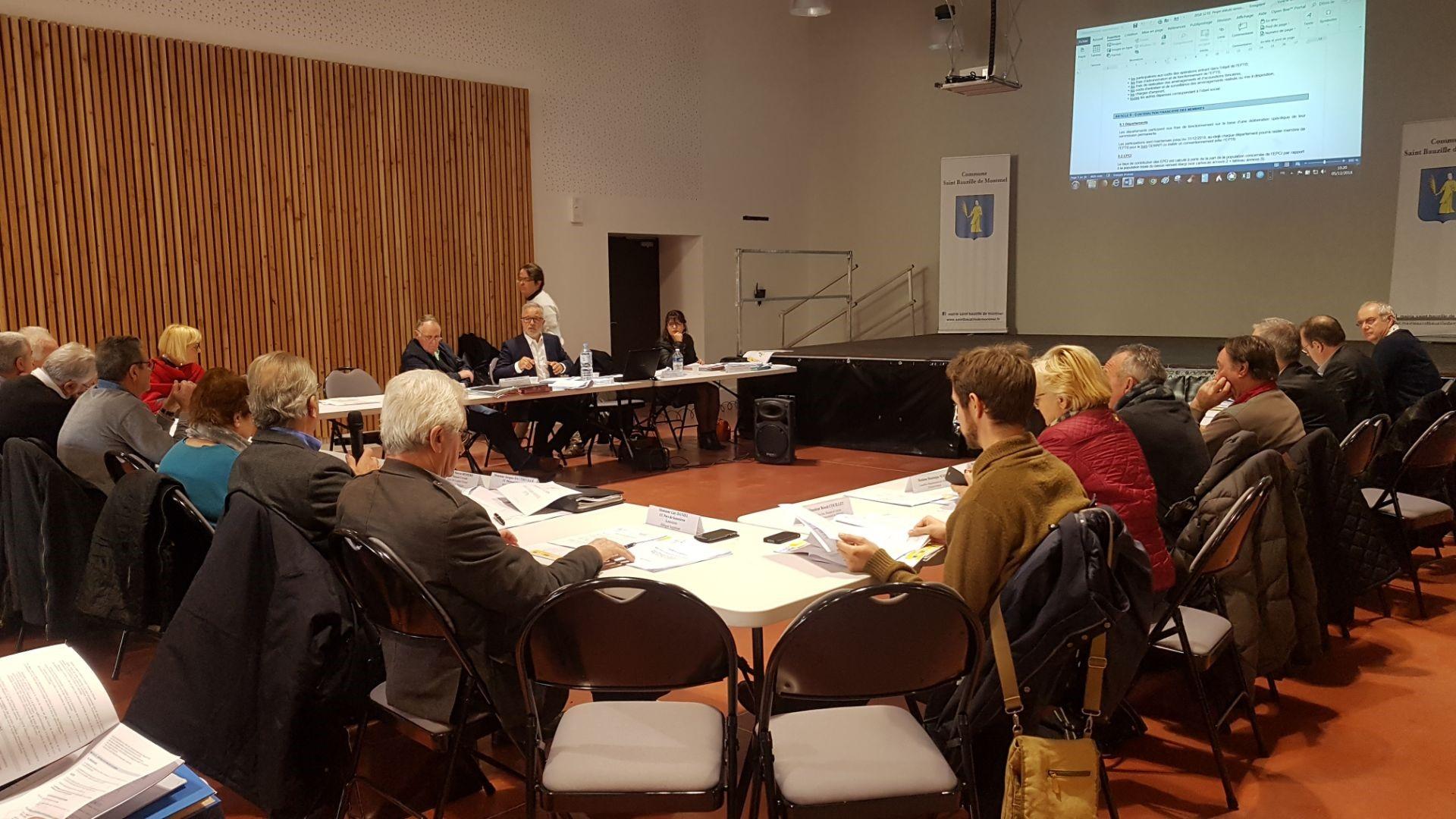 Condensé des délibérations prises lors du Comité Syndical du 5 décembre 2018 à Saint Bauzille de Montmel