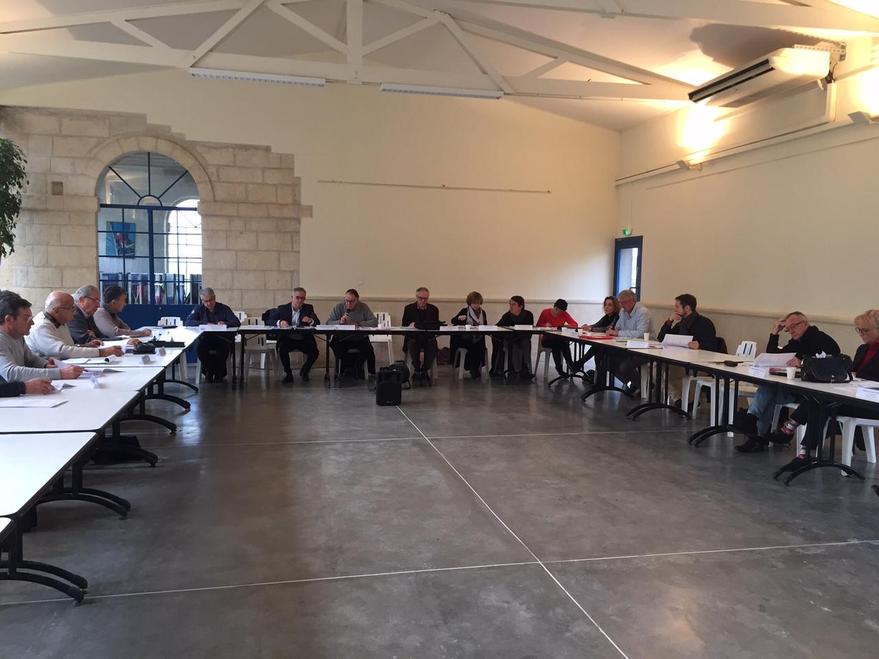 Condensé des délibérations prises lors du comité syndical du vendredi 16 décembre 2016 à Salinelles
