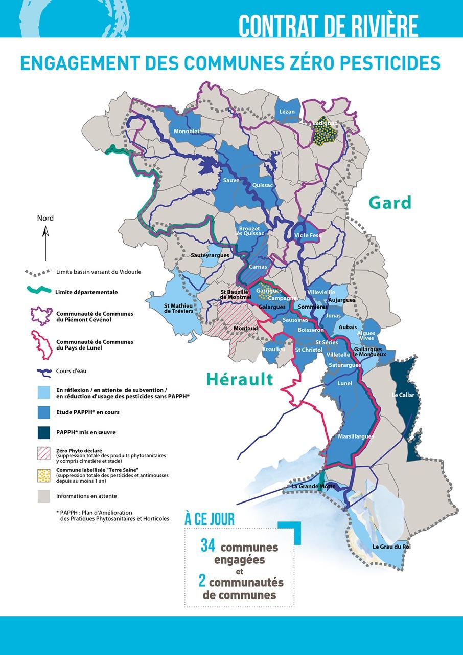 Zéro pesticides : La carte des collectivités engagées