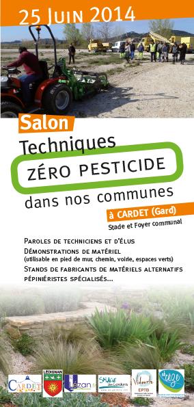 L'EPTB Vidourle co- organise le salon zero pesticides dans nos communes , le 25 juin à Cardet