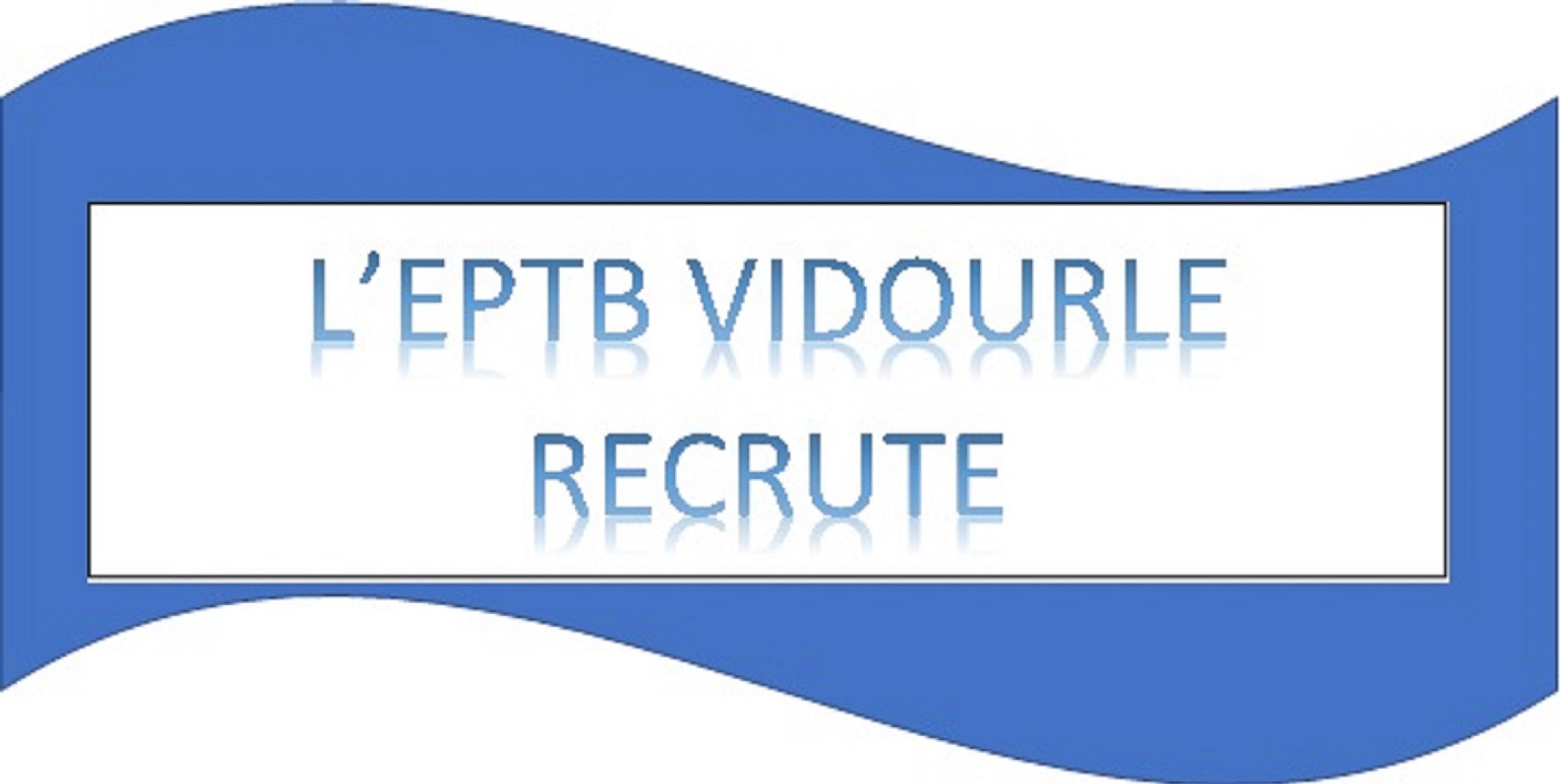 L'EPTB VIDOURLE RECRUTE UN(E) CHARGE(E) DES RESSOURCES HUMAINES ET MARCHES PUBLICS