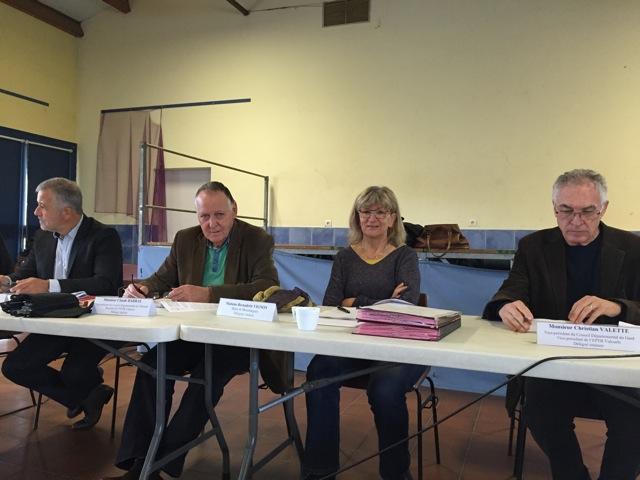 Condensé des délibérations prises lors du comité syndical du 28 octobre 2015 à Marsillargues