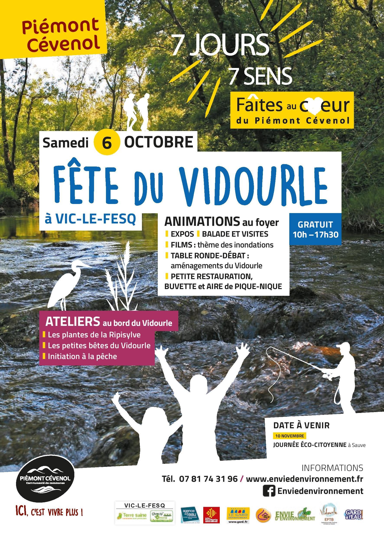 Fête du Vidourle – Samedi 6 octobre 2018