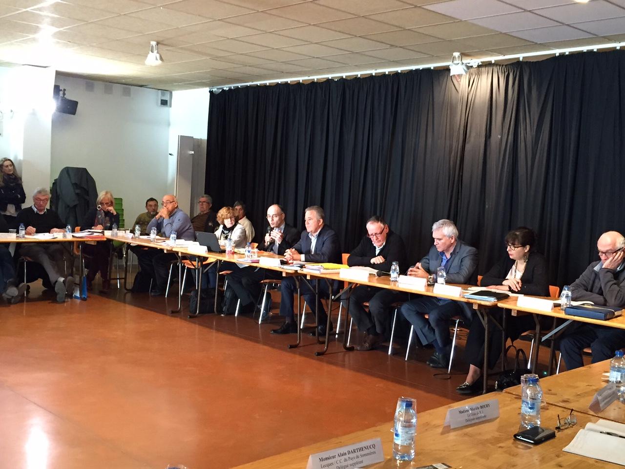 Les élus du comité syndical de l'EPTB Vidourle se sont réunis à Aimargues, le vendredi 19 février 2016