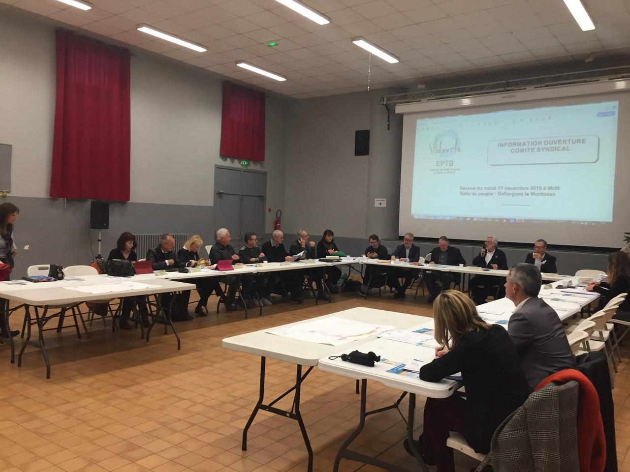Condensé des délibérations prises lors du comité syndical du 17 décembre 2019 – 9h30 – Gallargues le montueux