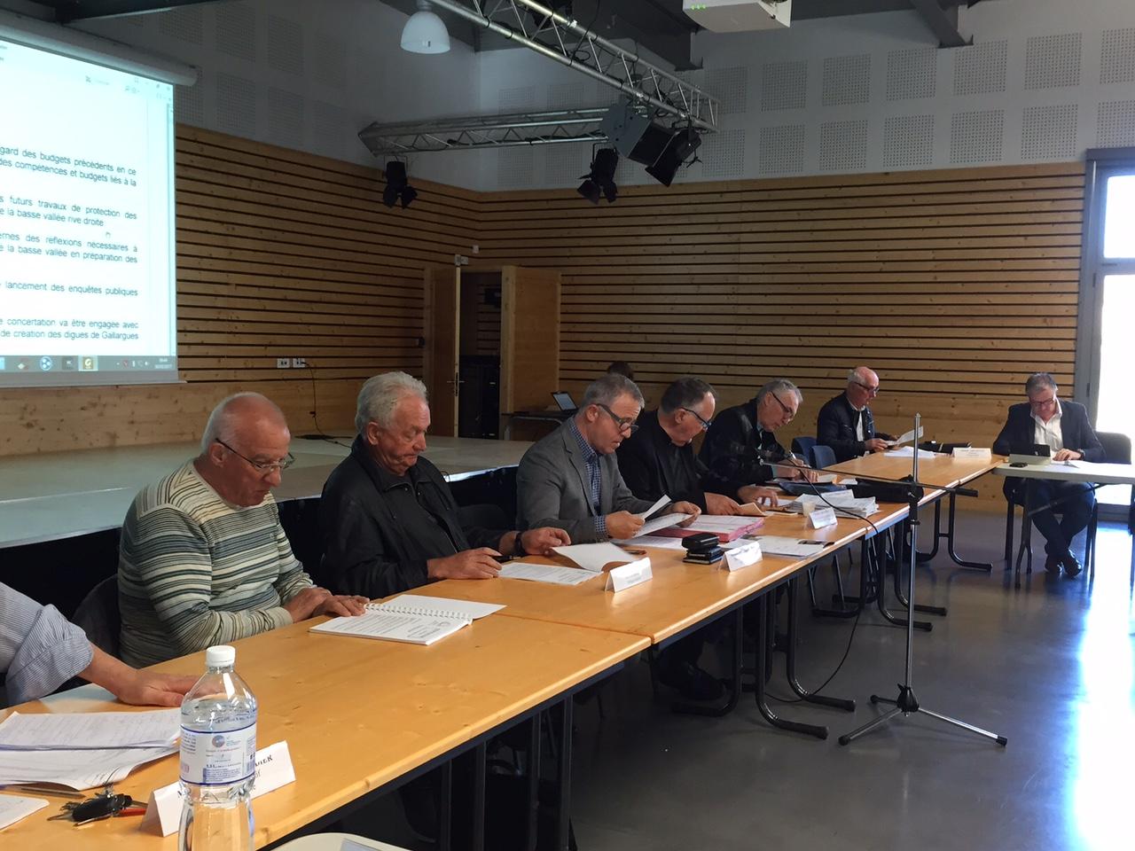 Condensé des délibérations du comité syndical du 30 mars 2017 à Villetelle