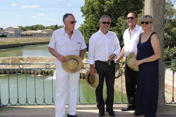 Le Président du CD 34 en visite sur le bassin versant du Vidourle