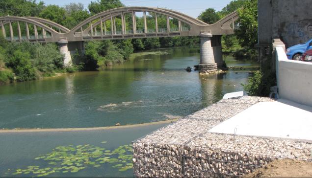 Marsillargues : le chantier de confortement de la digue de 1er rang avance à grand pas !