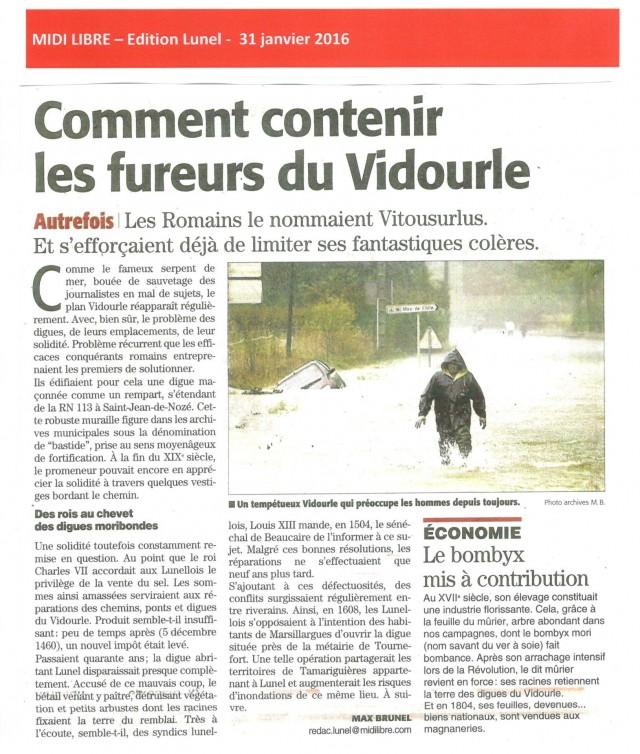 Midi Libre - 31 janvier