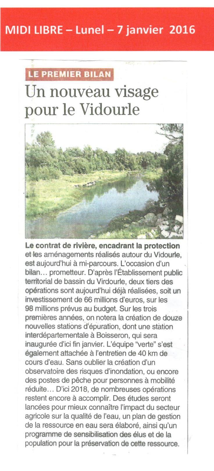 Contrat de Rivière : un premier bilan à mi-parcours sur la protection et les aménagement réalisés