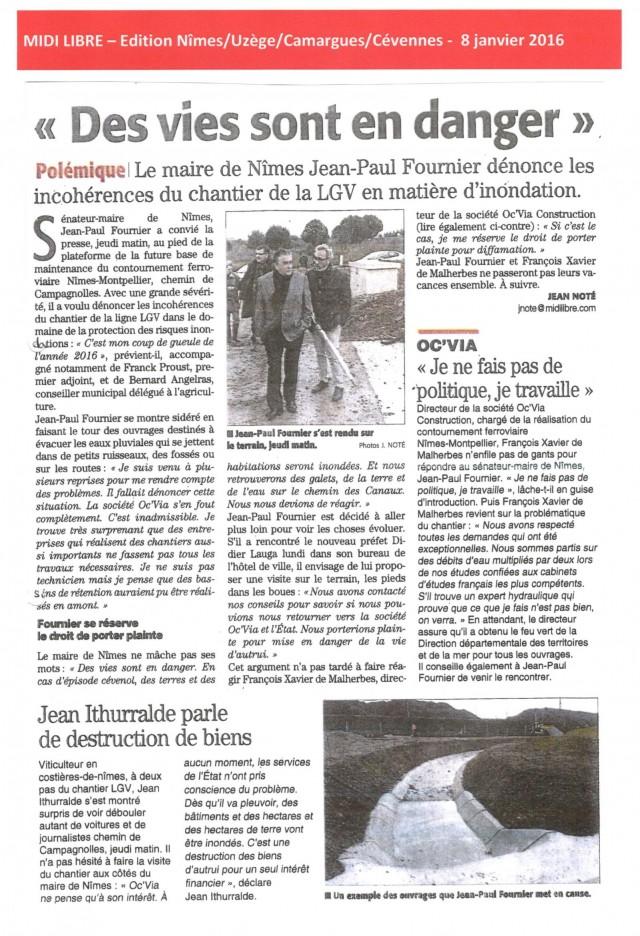 Midi Libre - 8 janvier