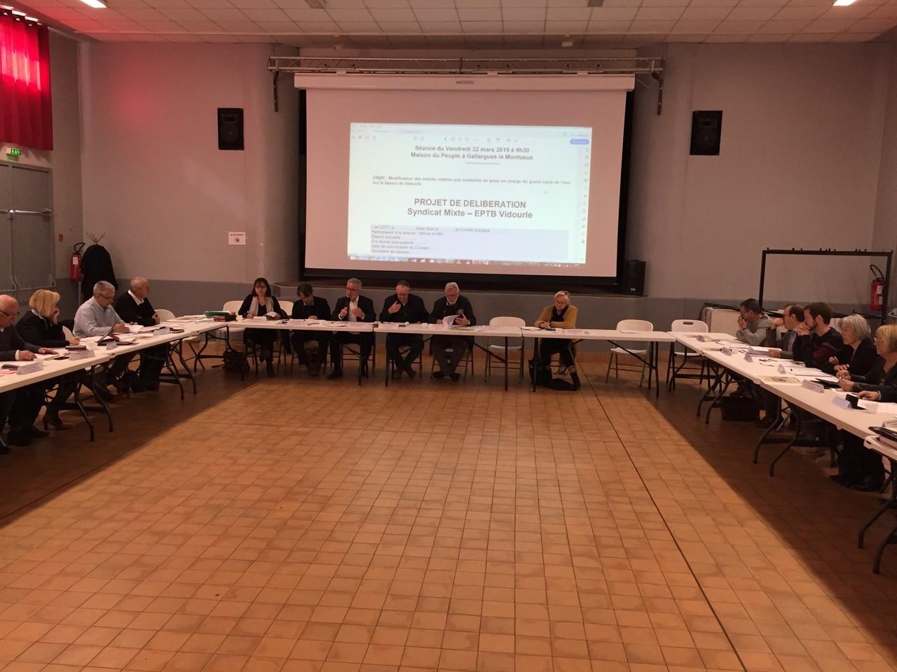 Condensé des délibérations prises lors du Comité Syndical du 22 mars 2019 à Gallargues le Montueux