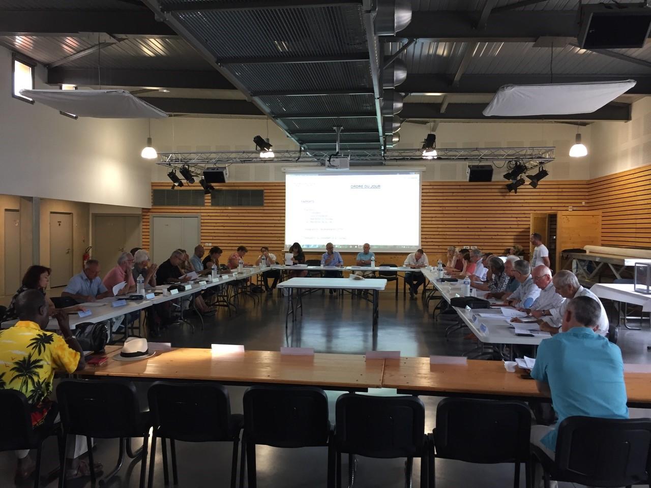 EPTB Vidourle : Claude Barral, réélu Président à l'unanimité