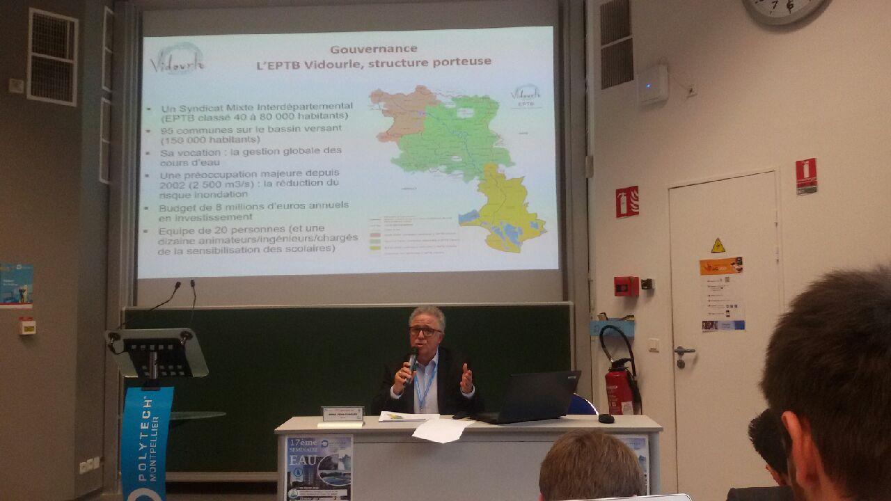 Compétence GEMAPI et ses impacts sur un syndicat de bassin :  Une conférence animée par Jean Charles Amar, le 14 février à l'école polytechnique