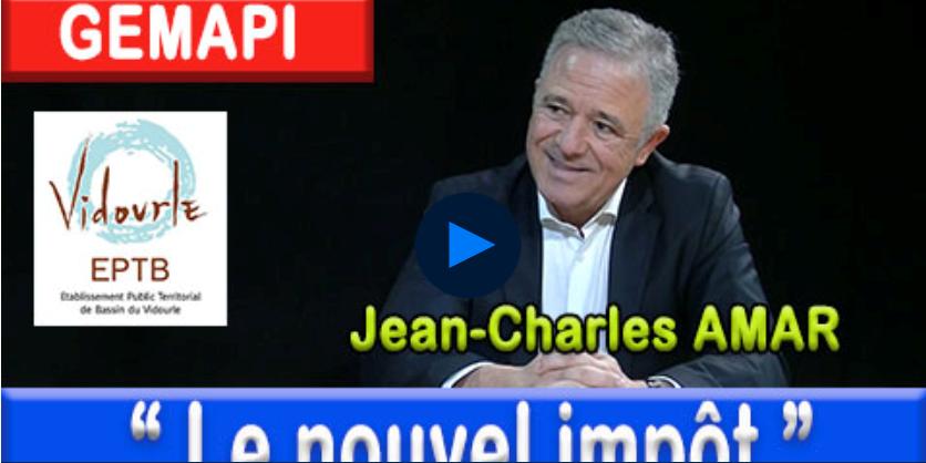 Jean Charles Amar, invité de l'émission politique d'Agglo tv dont la thématique était » GEMAPI – le nouvel impôt»