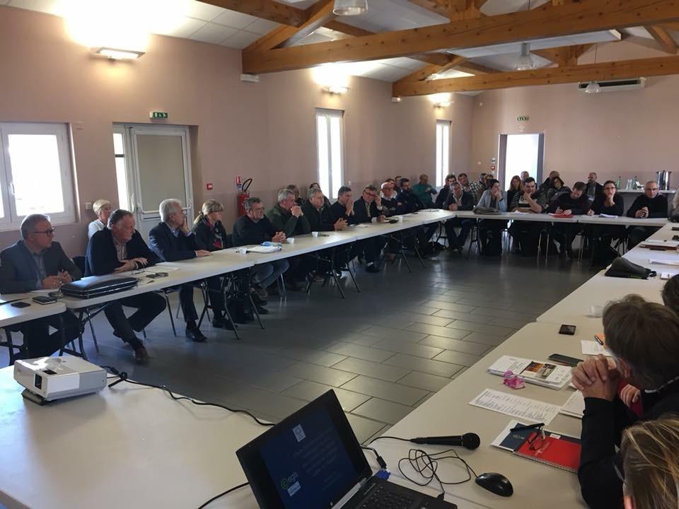 Aménagements de la rive droite : état des lieux et diagnostic présentés le 16 novembre 2017 aux acteurs concernés