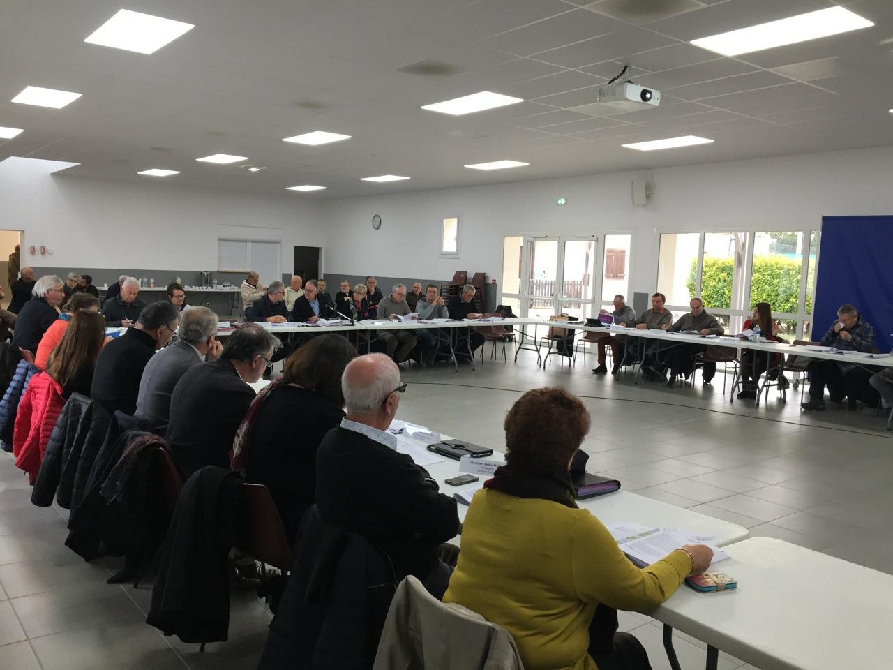 Condensé des délibérations prises lors du comité syndical du 1er décembre 2017 à Marsillargues