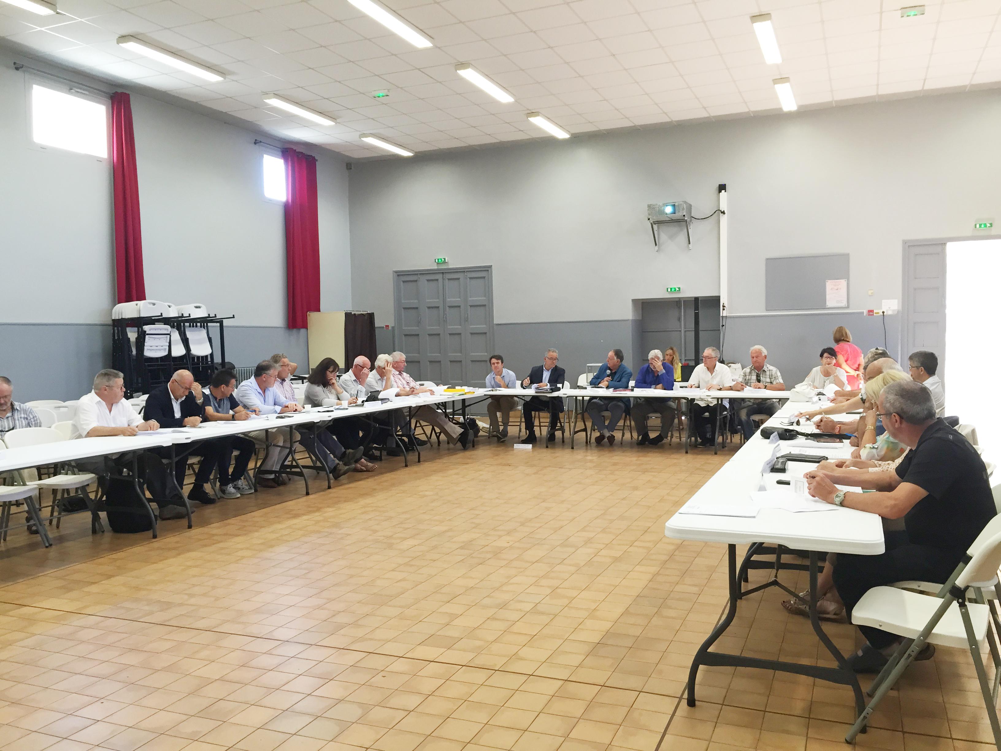 Condensé des délibérations prises lors des comités syndicaux du 30 juin 2017 à Salinelles