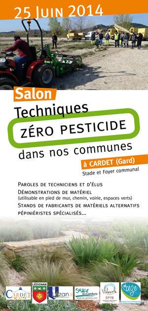 Réussite du salon technique «Zéro pesticide dans nos communes»  à Cardet