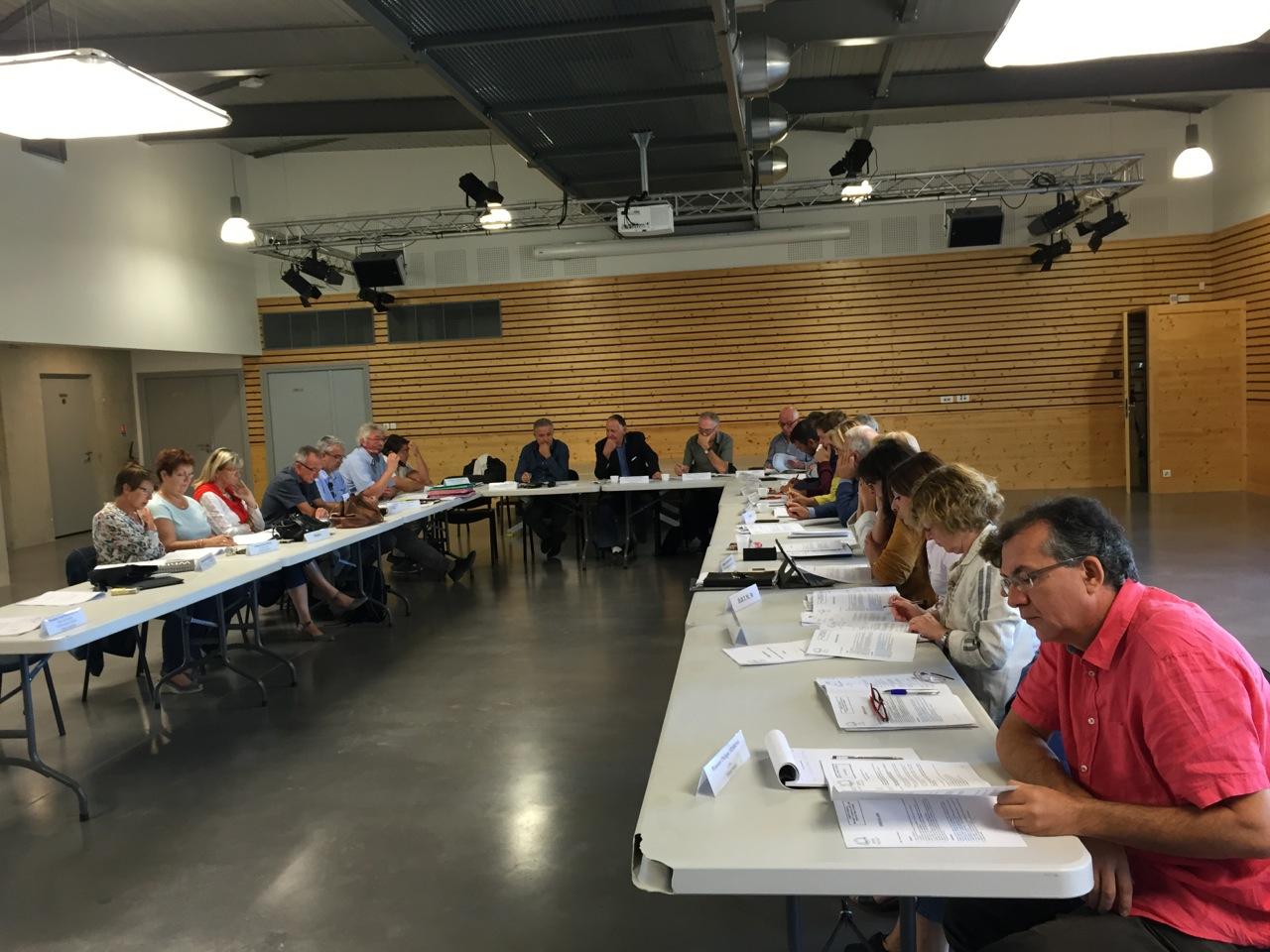 Condensé des délibérations prises lors du comité syndical du mercredi 21 septembre 2016 à Villetelle