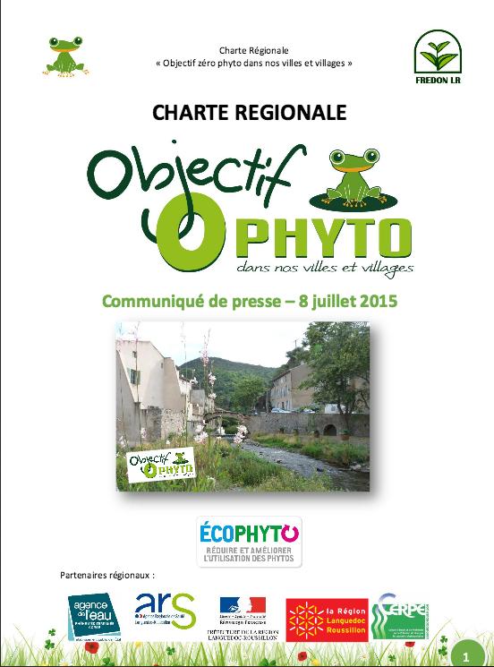 Objectif «zéro pesticides» : nouvelle réglementation et charte régionale en place !