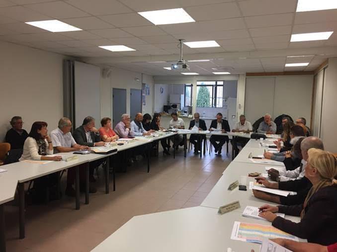 Comité syndical du 18-10-2019 : le premier depuis la nouvelle gouvernance